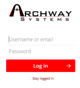 Archway Portal Login Picture